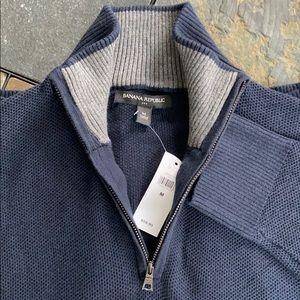 Premium 1/4 Zip-Neck Sweater (NWT)
